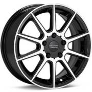 American Racing AR908 Black Machined Wheels