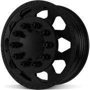 American Force Saber Black Front Dually Wheels