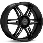 American Racing Wheels AR890 Matte Black Machined