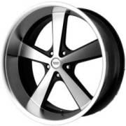American Racing Wheels VN701 Nova Machine Black
