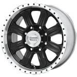 American Racing Wheels AR321 Fuel Black