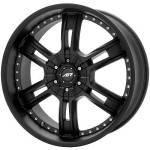American Racing Wheels AR339 Marin Black