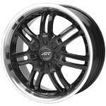 American Racing Wheels AR363 Haze Black