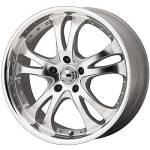 American Racing Wheels AR383 Casino Silver