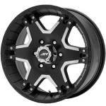 American Racing Wheels AR392 Tactic Black Machined
