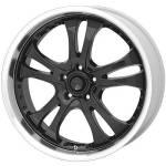 American Racing Wheels AR393 Casino Black