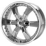 American Racing Wheels AR600 Razor6 Chrome