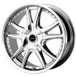 American Racing Wheels AR607 Alert Chrome
