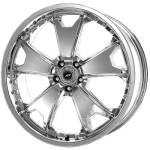 American Racing Wheels AR664 TXM Chrome
