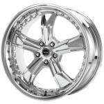 AR698 Razor 20x9 5x114.3 Chrome