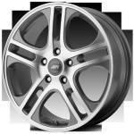 American Racing Wheels AXL Silver