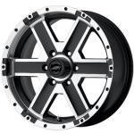 American Racing Wheels Element Black Machined