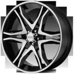 American Racing Wheels Mainline Black Machined