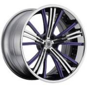 Asanti CX187 Purple and Chrome