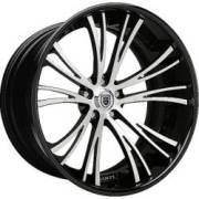 Asanti CX501 Black / Machined / Black Lip