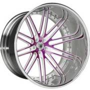 Asanti CX504 Purple, White, Chrome, Engraved
