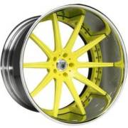 Asanti ELT501 Yellow / Chrome Engraved Lip
