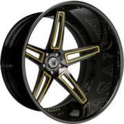 Asanti CX506 Black / Yellow / Engraved