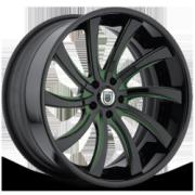 Asanti 810 Black Green