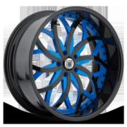 Asanti 821 Blue w/ Black