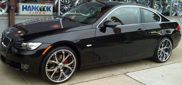 Asanti AF143 2-Tone Black & Chrome on BMW
