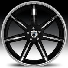 Asanti AF161 Black & Chrome Step Forged Wheels