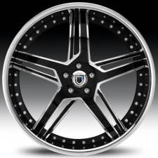Asanti AF162 Black & Chrome Step Forged Wheels