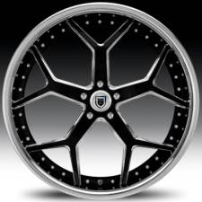 Asanti AF164 Black & Chrome Step Forged Wheels