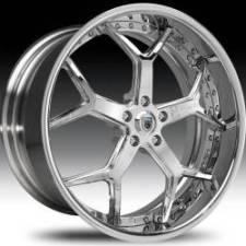 Asanti AF164 Chrome Step Forged Wheels