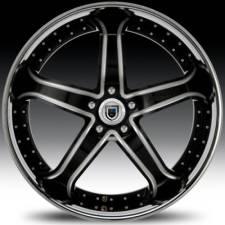 Asanti AF165 Black & Chrome Step Forged Wheels