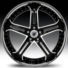 Asanti AF167 Black & White Step Forged Wheels