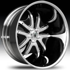 Asanti AFC405 Black-Chrome 2-Tone Curve Forged