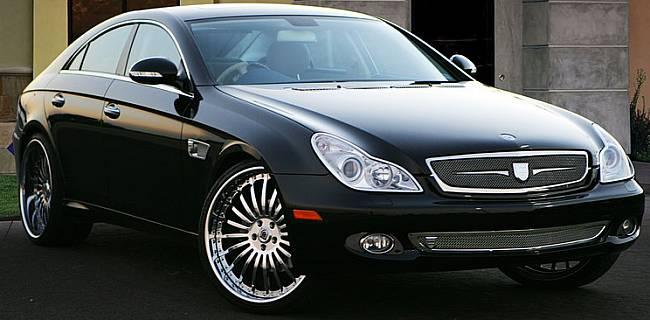 Asanti Luxury Wheels on Mercedes CLS500