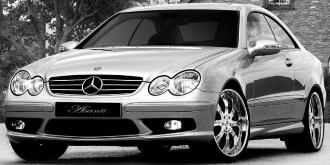 Asanti AF131 on Mercedes CLS