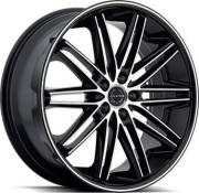 Asanti Black Label ABL-10 Black Machined Wheels
