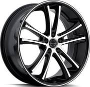 Asanti Black Label ABL-1 Black Machined Wheels
