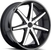 Asanti Black Label ABL-9 Black Machined Wheels