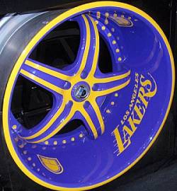 Los Angeles Lakers Wheel