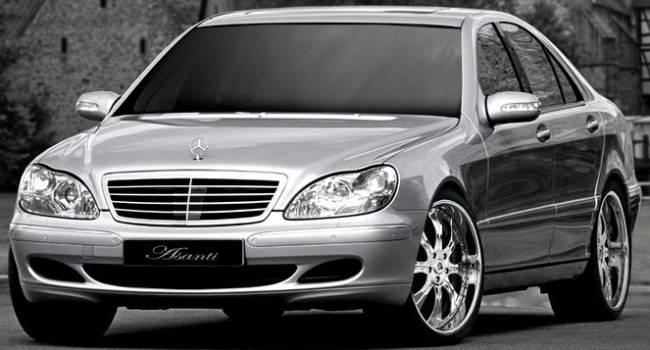 Asanti Luxury Alloys on Mercedes