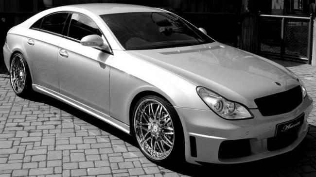 Asanti Luxury Wheels on Mercedes CLS Rocket