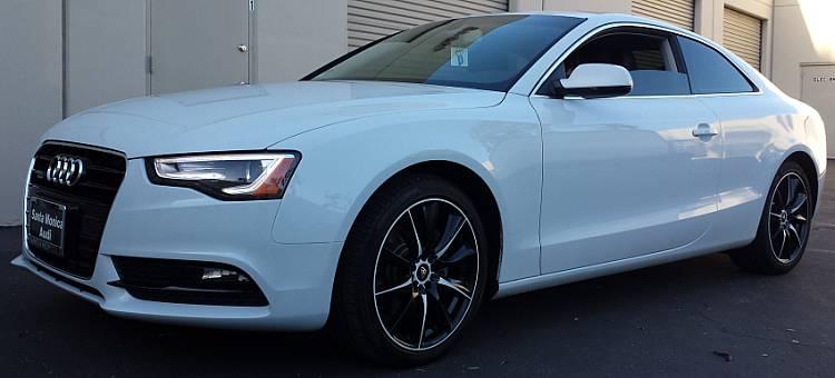 White Diamond WD-0019 Black with White on Audi