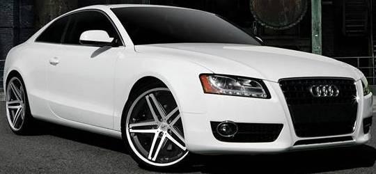 Audi A5 on Lexani R-Five Wheels