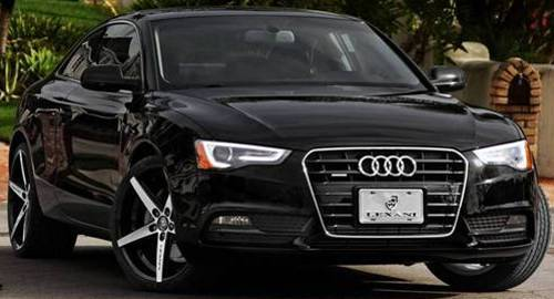 New Lexani R-Four Chrome Wheels for Audi