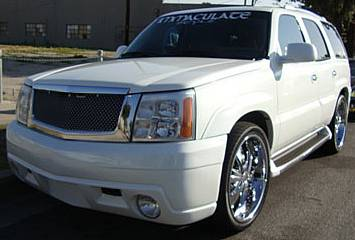 Autostyle Body Kit for Cadillac Escalade w/fog