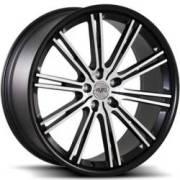 Avat AV11 Machined Black Wheels