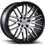 Avat AV12 Machined Black Wheels