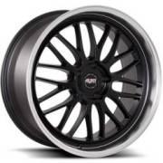 Avat AV9 Black Machined Wheels
