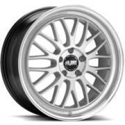 Avat AV9 Gloss Silver Machined Wheels