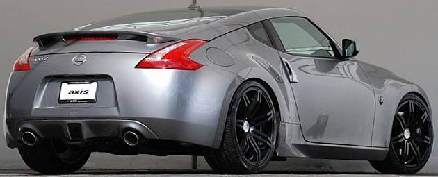 Axis Angle Wheels on Nissan 350Z