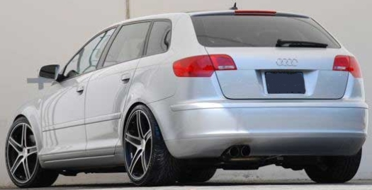 Axis Elite Black Machined on Audi A3